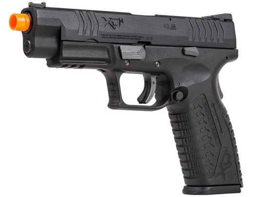 Springfield Armory XDM 4.5 Compact Gas Blowback Airsoft Pistol, Black