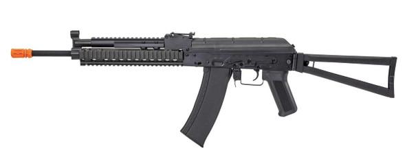 Lancer Tactical AK-74 KTR RIS Full Metal AEG Airsoft Rifle, Black