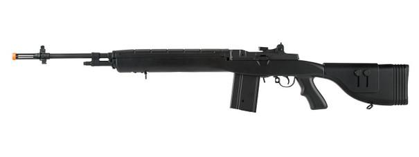 Lancer Tactical LT-732 DMR Stock 45 M14 SOCOM AEG Airsoft Rifle, Black
