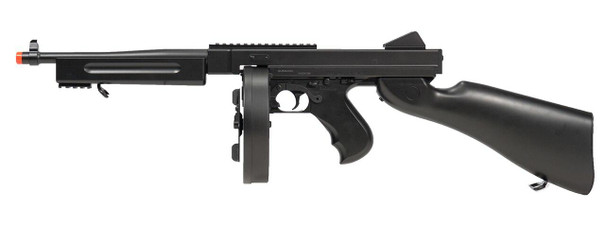 Double Eagle M1A1 Tommy Gun AEG Airsoft Rifle, Black