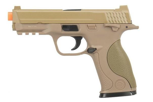 UKARMS G53T Airsoft Spring Pistol, Tan