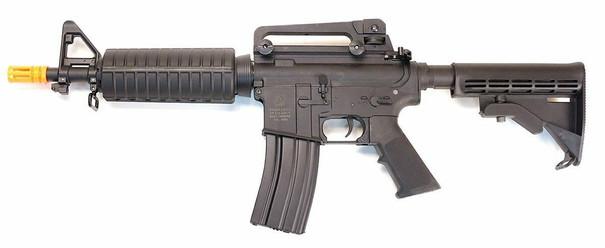 Colt M4 Commando Sportline AEG Airsoft Rifle, Black