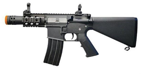 Colt M4 Stubby Killer CNC RIS Sportline AEG Airsoft Rifle, Black