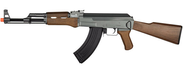 Lancer Tactical LT-728 AK47 Metal Electric Airsoft Rifle AEG