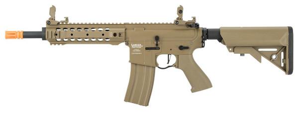 Lancer Tactical LT-24 M4 CQB ProLine Series High FPS AEG Airsoft Rifle, Tan