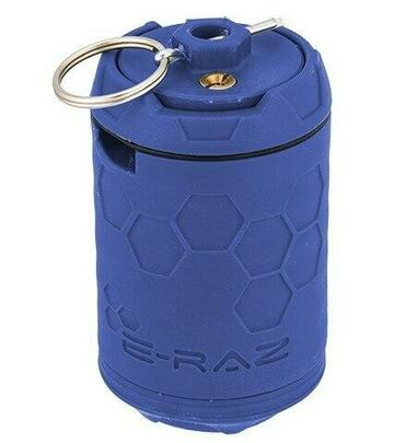 Z-Parts ERAZ Rotative 100 BB Airsoft Grenade, Blue