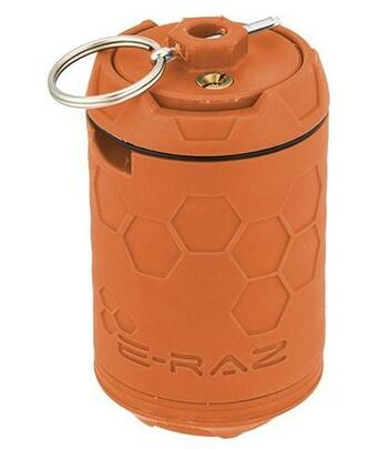 Z-Parts ERAZ Rotative 100 BB Airsoft Grenade, Orange