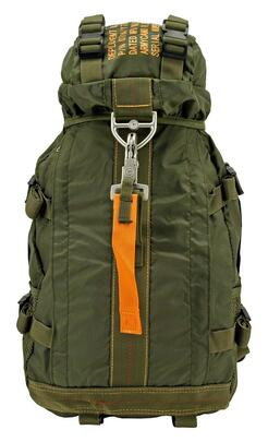 Flight Parachute Backpack, Olive Green