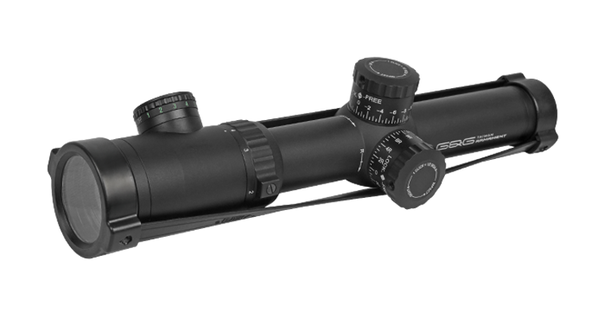GandG 1.1-4x24 Variable Zoom Scope, Black