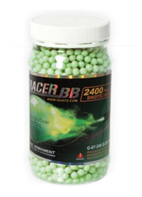 GandG 0.28g 2400Ct Tracer BBs, Green