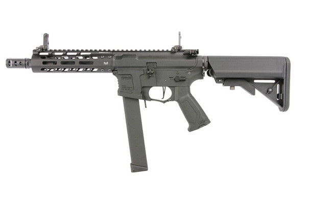 GandG CM16 PCC 9MM M-LOK Carbine Airsoft AEG, Black