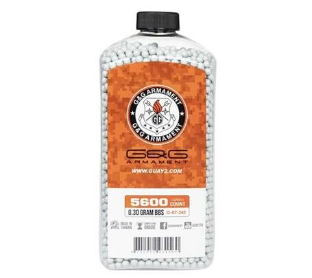 GandG Perfect Grey BBs 0.30g, 5600 Count Bottle