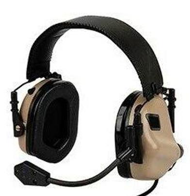 Earmor M32 MOD3 Electronic Communication Hearing Protector, Tan