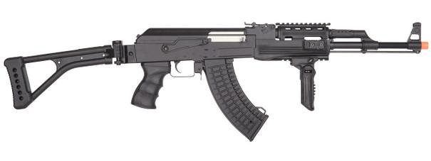 Lancer Tactical CM028U AK-47 Tactical Full Metal AEG Folding Stock Airsoft Rifle by CYMA
