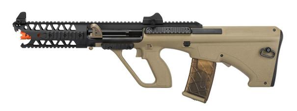 Army Armament Polymer AUG 7 Raptor AEG Airsoft Rifle, Tan