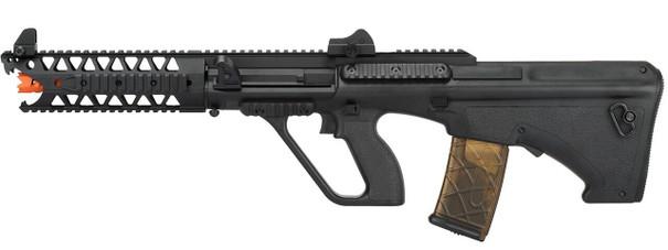 Army Armament Polymer AUG 9 Raptor AEG Airsoft Rifle, Black