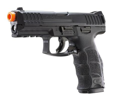 HandK VP9 Spring Airsoft Pistol, Black