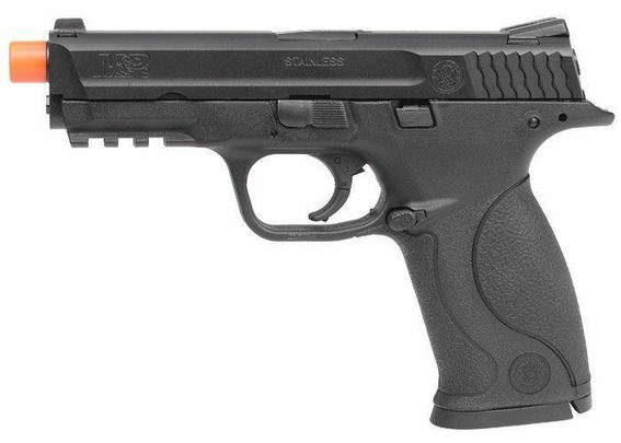 VFC Smith and Wesson MandP9 Performance Center Gas Blowback Airsoft Pistol, Black