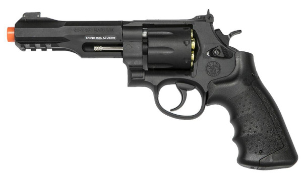 KWC Smith and Wesson MandP R8 Co2 Airsoft Revolver, Black