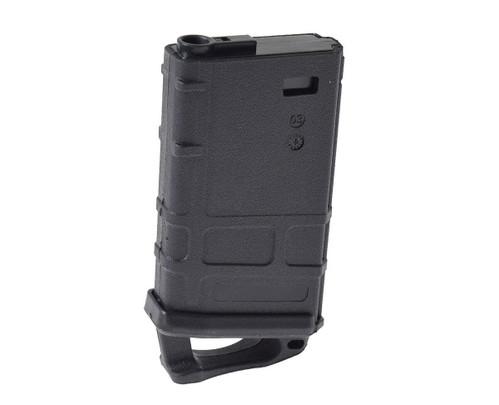 Short Mid-Cap M4 Magazine, Black, 70 BB Capacity