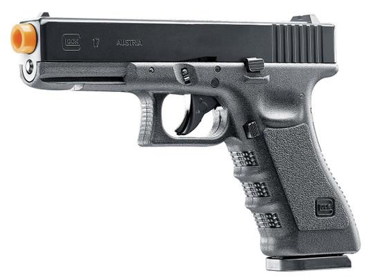 Glock G17 Gen3 CO2 Blowback Airsoft Pistol, Black