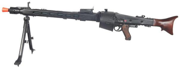 AGM Maschinengewehr MG42 Full Metal AEG Airsoft Machine Gun w/ Drum Magazine