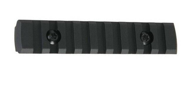 Raptors Airsoft 9-Slot M-LOK Rail Section, Black