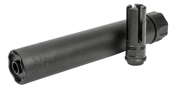 Raptors Airsoft SOCOM Series 220mm 7.62 Mock Silencer, Black
