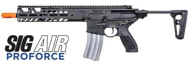 SIG SAUER MCX VIRTUS Proforce Series AEG Airsoft Rifle, Black