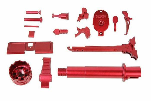 GandG ARP-9 Super Ranger Dress-Up Kit, Fire / Red