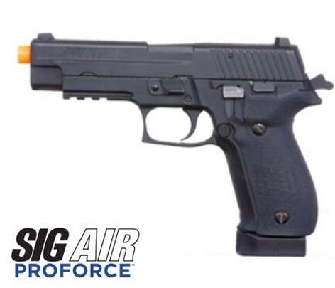 SIG SAUER P226 Proforce Series Gas Blowback Airsoft Pistol, Black