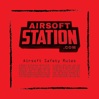 Official Airsoft Station Dead Rag, 18 x 18