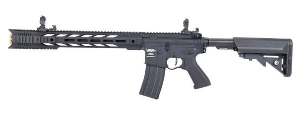 Lancer Tactical Interceptor SPR ProLine Series Airsoft Rifle, Low FPS Version, Black