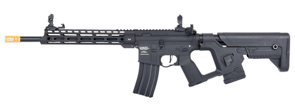 Lancer Tactical Enforcer Series BLACKBIRD ProLine High FPS Airsoft Rifle w/ Alpha Stock, Black