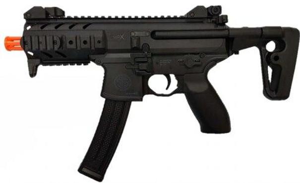 SIG SAUER SIG1 MPX Spring Airsoft Rifle, Black