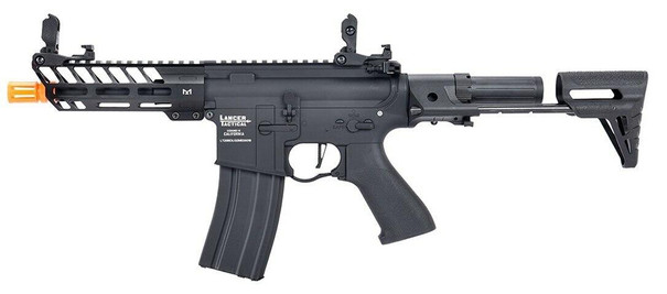 Lancer Tactical ProLine Series NEEDLETAIL PDW Low FPS AEG Airsoft Rifle, Black