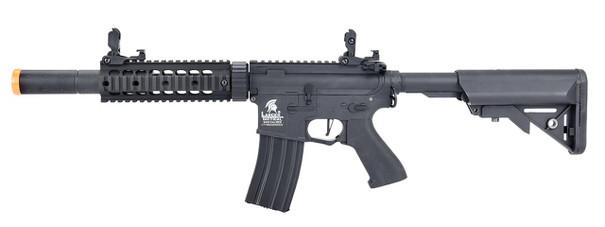 Lancer Tactical LT-15 M4 SD 7 Hybrid Gen 2 High FPS AEG Airsoft Rifle, Black