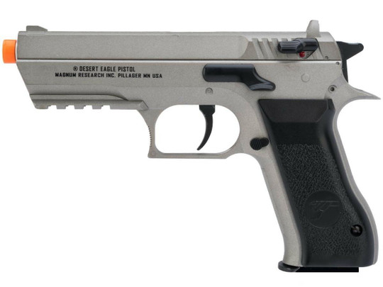 Magnum Research Baby Desert Eagle Co2 NBB Airsoft Pistol, Gray