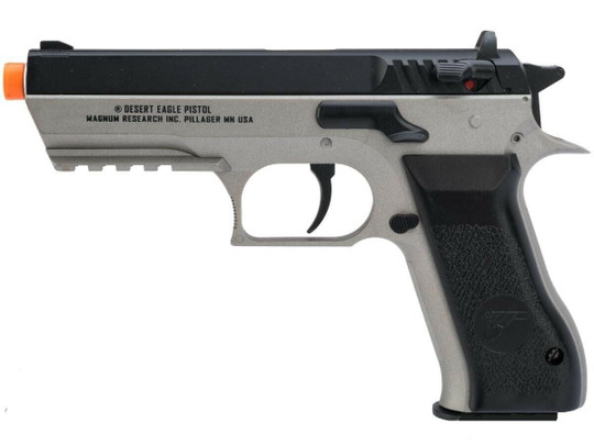Magnum Research Baby Desert Eagle Co2 NBB Airsoft Pistol, Gray / Black