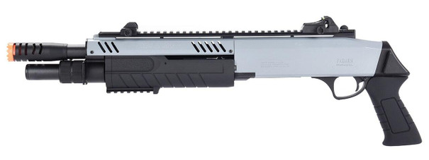 BO Manufacturer FABARM STF12 11 Barrel Pump Action Shotgun, Grey / Black