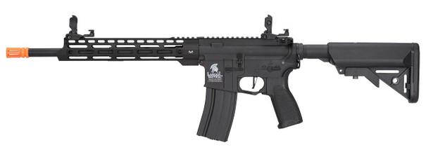 Lancer Tactical Enforcer Series BLACKBIRD Hybrid Gen 2 High FPS AEG Airsoft Rifle, Black