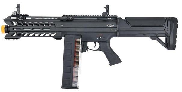Tokyo Marui SGR-12 Electric Shotgun, Black