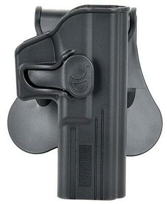 Amomax Gen 2 Rigid Holster for Glock 17, Black