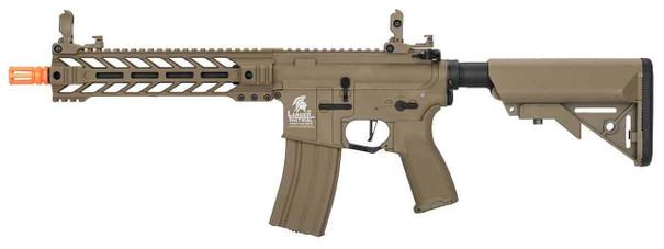 Lancer Tactical Enforcer Series Gen 2 BATTLE HAWK Hybrid High FPS AEG Airsoft Rifle, Tan