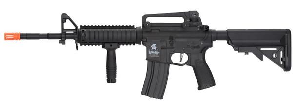 Lancer Tactical LT-04 M4 RIS Hybrid High FPS Airsoft Rifle, Black