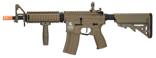 Lancer Tactical LT-02 MOD 0 MK18 Hybrid High FPS AEG Airsoft Rifle, Tan
