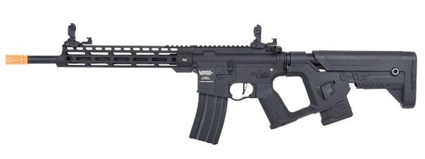 Lancer Tactical Enforcer Series BLACKBIRD Low FPS AEG Airsoft Rifle w/ Alpha Stock, Black