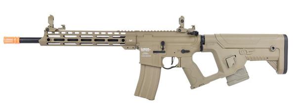 Lancer Tactical Enforcer Series BLACKBIRD Low FPS AEG Airsoft Rifle w/ Alpha Stock, Tan