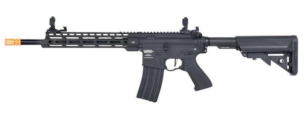 Lancer Tactical Enforcer Series BLACKBIRD Gen 2 High FPS AEG Airsoft Rifle, Black