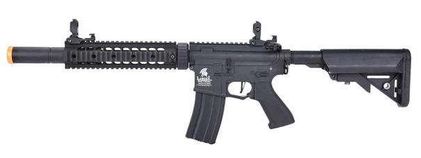 Lancer Tactical LT-15 M4 SD 9 Hybrid Gen 2 High FPS AEG Airsoft Rifle, Black